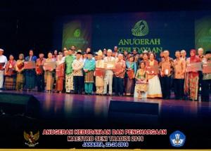 Anugerah_Budaya dan Maestro Seni_2016